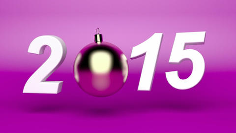 Happy new year 2015 Animation