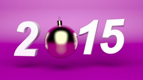 Happy new year 2015 Animation