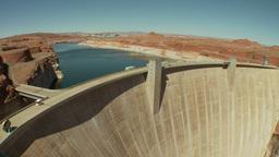 CC Dam 2 Proj stock footage