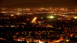 CC LA Overhead 1 Proj stock footage