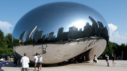 Chi Sphere 4 2011 stock footage
