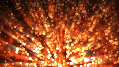 Holiday Fiery Particles Loop 2 Animation