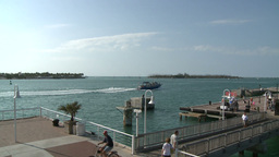 Keywest Dock Pond 5 stock footage