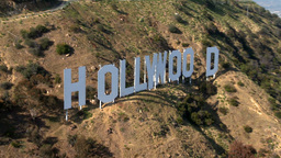 LA HOLLYWOODSIGN 1 2012 Footage