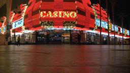 Las Vegas Casino 8 stock footage