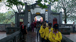 Vietnam Temple 1 stock footage