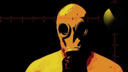 Cartoon Mask 1 24fps Footage