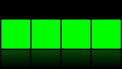 transitions Green Screen FX room hi-tech projection commerce displays rotate lcd Animation