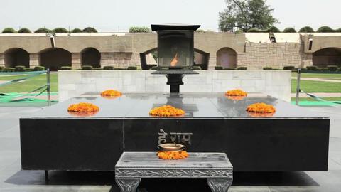 Raj Ghat, Gandhi Memorial Footage