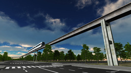 Monorail Stock Video Footage