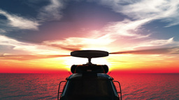 Helicopter Stock Video Footage