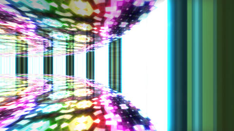 Dance Floor C1 F1 HD Stock Video Footage