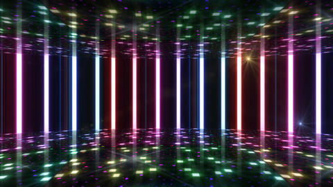 Dance Floor F1 B1 HD Stock Video Footage