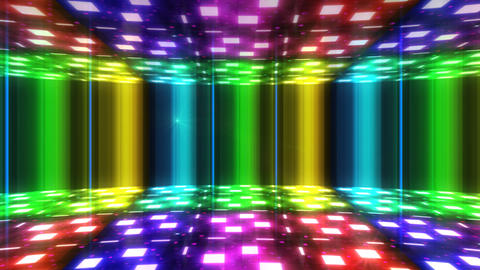 Dance Floor F1 B1 HD Stock Video Footage