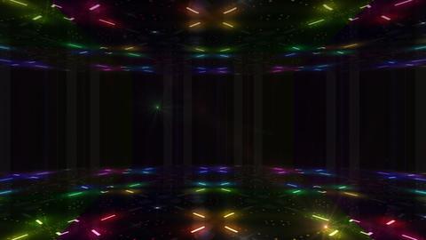 Dance Floor F1 D1 HD Stock Video Footage