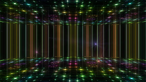 Dance Floor F1 H1 HD Stock Video Footage