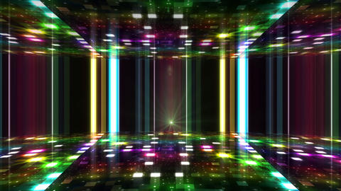 Dance Floor F1 J1 HD Stock Video Footage