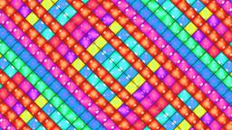 diamond cross light pink Stock Video Footage