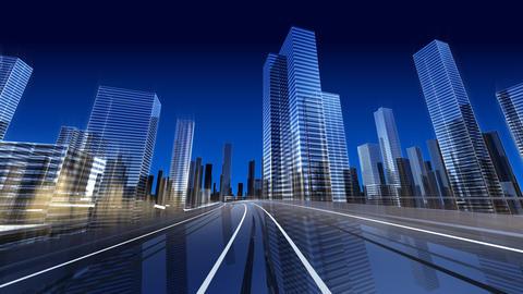 City Highway 2c2 HD Stock Video Footage