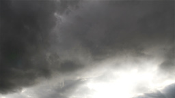 Clouds Timelapse Godrays 03 Stock Video Footage