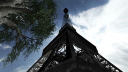 Eiffel Tower Clouds Timelapse 05 Animation