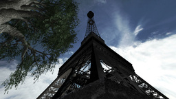 Eiffel Tower Clouds Timelapse 05 Stock Video Footage
