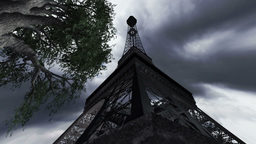 Eiffel Tower Clouds Timelapse 09 Stock Video Footage