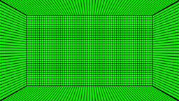 Green Screen Design 25 box flickering Stock Video Footage