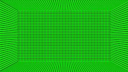 Green Screen Design 27 box loop flickering Stock Video Footage
