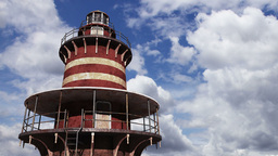 Lighthouse Clouds Timelapse 05 Animation