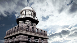 Lighthouse Clouds Timelapse 09 Stock Video Footage