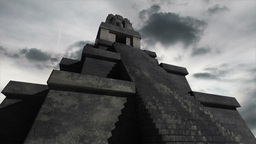Maya Pyramid Clouds Timelapse 02 Animation