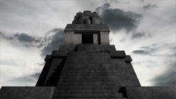 Maya Pyramid Clouds Timelapse 06 Animation