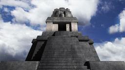 Maya Pyramid Clouds Timelapse 08 Stock Video Footage