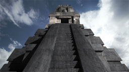 Maya Pyramid Clouds Timelapse 10 Animation