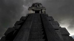 Maya Pyramid Clouds Timelapse 12 Stock Video Footage