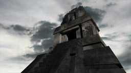 Maya Pyramid Clouds Timelapse 16 Animation