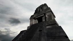Maya Pyramid Clouds Timelapse 16 Stock Video Footage