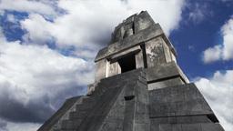 Maya Pyramid Clouds Timelapse 18 Stock Video Footage
