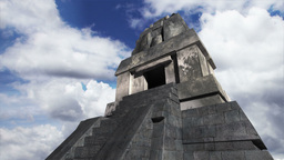 Maya Pyramid Clouds Timelapse 18 Stock Video Footage