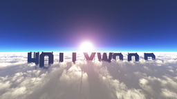 Hollywood Sign Stock Video Footage