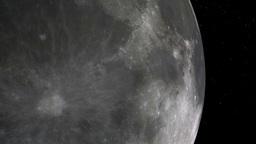 earth moon 01 Stock Video Footage