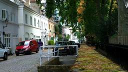 Backstreet in England 01 Stock Video Footage