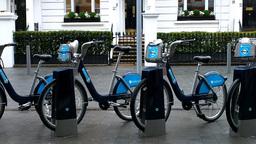 Bike Rental London Street 01 Footage