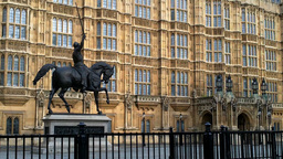 British Parliament 02 Stock Video Footage