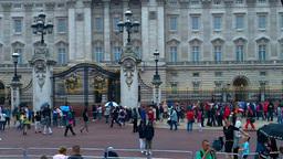 Buckingham Palace 01 Stock Video Footage