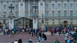 Buckingham Palace 01 Stock Video Footage