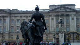 Buckingham Palace 03 Stock Video Footage