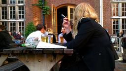 Campus Pub London 03 Stock Video Footage
