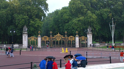 Green Park Entrance London Footage